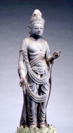 「若狭の秘仏 文化財特別公開」の期間中における若狭歴史博物館の仏像展示