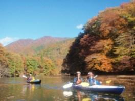 関東北西部「紅葉レイクカヤック・オーダーメイドツアー」 ~秋を楽しむ水辺の旅~