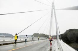 第2回山陰浜田港マリン大橋リレーマラソン