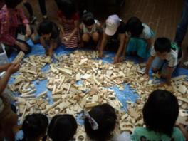 ナチュラルバックヤード木のおもちゃ作り(11月)