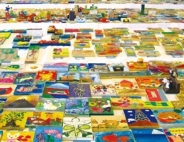 小さな美術展 第16回かまぼこ板絵国際コンクール 応募全作品展示会