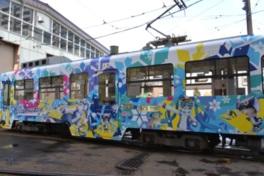 雪ミク電車2017運行