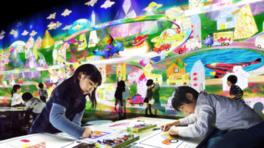 チームラボアイランド「学ぶ!未来の遊園地」
