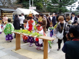 河内の春ごと(菜種御供大祭)