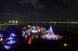 びわ湖大津館2016イルミネーション「光の庭のRoseFantasy」