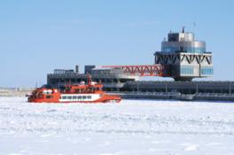 流氷砕氷船ガリンコ号Ⅱ冬季運行