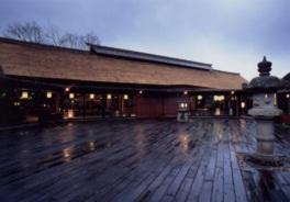 豊かな緑、広大な敷地で古きよき日本の趣きを堪能