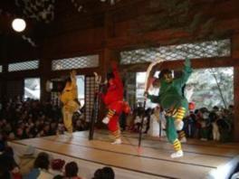 本成寺鬼踊り