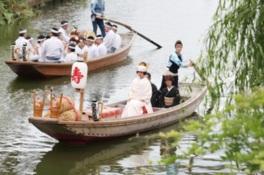 第66回水郷潮来あやめまつり「嫁入り舟」