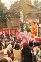 かえる寺の節分祭
