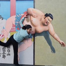 ふしぎの迷宮! トリックアート展in沖縄アウトレットモールあしびなー