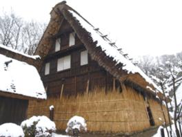 特別展示「雪囲い-旧山田家-」