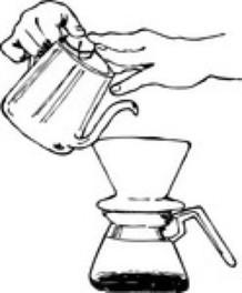 陶芸でコーヒードリッパー作り