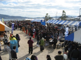 江田島市カキ祭