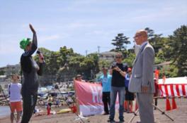 第7回真鶴・岩海岸オープンウォータースイム大会