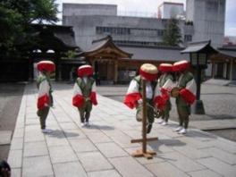 田舞祭(堀米の田楽舞)