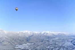 熱気球フリーフライトアドベンチャー! 安曇野と北アルプスを一望!