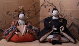 上山城の雛祭り