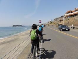 鎌倉ストリートサイクリング(2月)