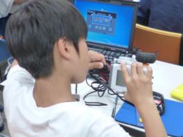 サイエンジャー科学教室「ROBOLABOプログラミング教室」