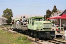 トロッコ列車でエッグハント