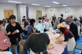 3月JAFデー 味噌作り教室