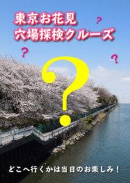 東京お花見穴場探検クルーズ