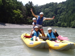 大井川カヤック&ラフティングキャンプツアー