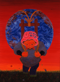 斎藤吾朗の描けば描くほど モナ・リザ模写から赤絵へ