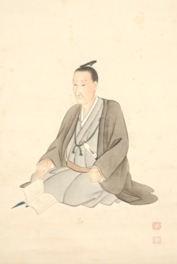 県立山口博物館テーマ展「吉田松陰肖像画の絵師 松浦松洞」
