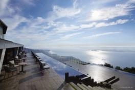 びわ湖テラスから一望できる琵琶湖の絶景