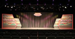 ステージと距離の近い客席