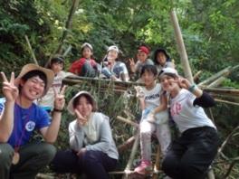 ヤックス自然学校「わんぱくコース:森の秘密基地作り」