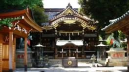 お寺でピラティス 豊川稲荷東京別院(4月)