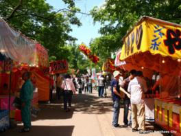 護国神社祭