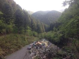 豊かな自然に囲まれたキャンプ場