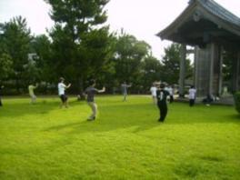 石橋記念公園健康づくりイベント「太極拳」体験(5月)