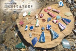 wakusei個展「琵琶湖キラキラ図鑑2」