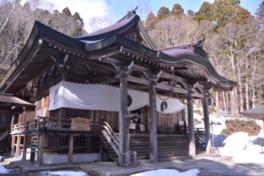 戸隠神社を構成する5社の内の中社