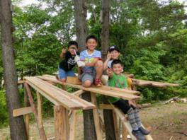 野外生活に挑戦!チャレンジキャンプ~テント・アウトドア体験や本格ピザ作り体験など