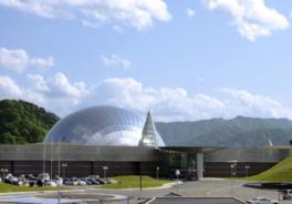 恐竜博物館の外観