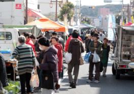 銚子観音・門前軽トラ市 お茶会