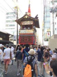 祇園祭前祭、曳き初めを見学!迫力満載の曳き初めを堪能しましょう!