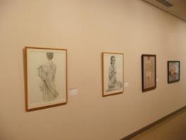 ギャラリー展「平成28年度 石正美術館絵画教室作品展」(前期)