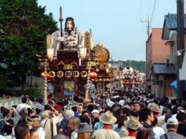 佐原の大祭夏祭り(八坂神社祇園祭)