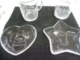 季節のイベント お父さんありがとう!「ガラス彫刻&デコプレート作り体験」