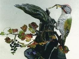 高橋秀三郎 野鳥彫刻展