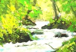 高橋憲悦絵画展~今年も、黒石温泉郷にて心癒す一枚の絵との出会いを~