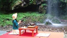 今滝 滝床料理