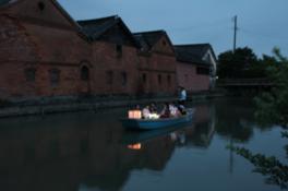 水郷柳川「灯り舟」